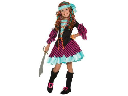 Details about  /Salty Taffy Girl/'s Pirate Costume Large