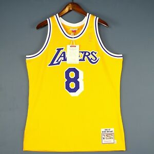 0271cce64ec 100% Authentic Kobe Bryant Mitchell   Ness 96 97 Lakers Jersey Size ...