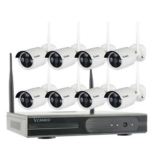 Outdoor Home Security Camera System With Night