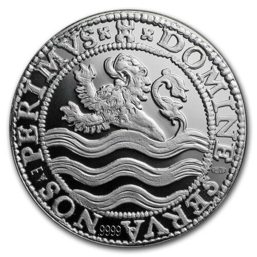 2018 Netherlands 1 oz Silver Proof Lion Dollar w//Box /& COA SKU#168320