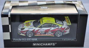 Porsche-911-GT3-RSR-90-LE-MANS-2005-Minichamps-400-056490-1-43