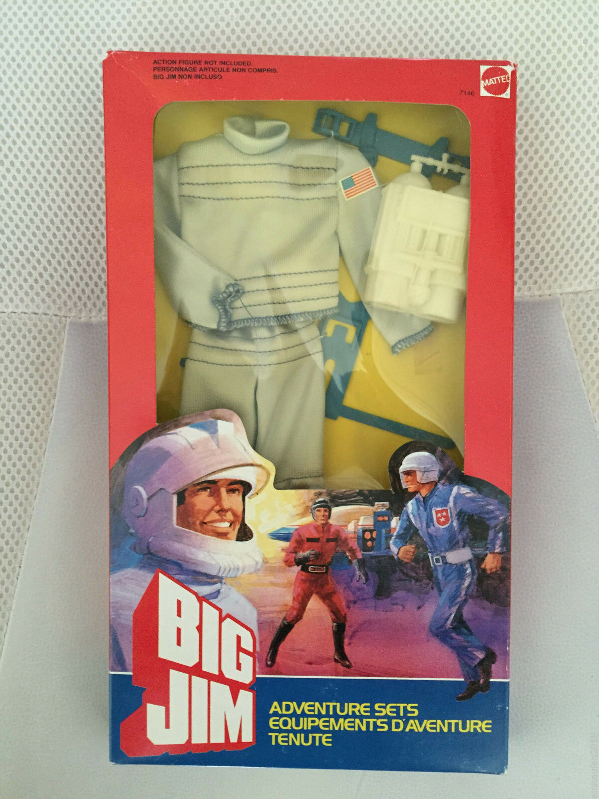 MIB MOC MISB BIG JIM ADVENTURE SETS SETS SETS ASTRONAUT 1984 a2bbd9