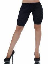 SEXY Pants  kurze Hose Shorts Bermudas mit Taschen Schwarz  Größe L 40