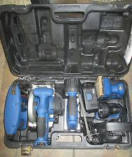 Delta Shopmaster Cordless Tool Set:  Sander/Nailer/Circular Saw/Jigsaw/Batteries