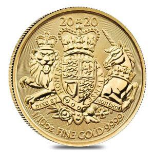 2020-Great-Britain-1-10-oz-Gold-Royal-Arms-Coin-9999-Fine-BU