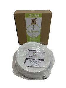 CatGuru Whisker Stress Free Cat Food Bowl, Reliefs Whisker Fatigue Open box NEW