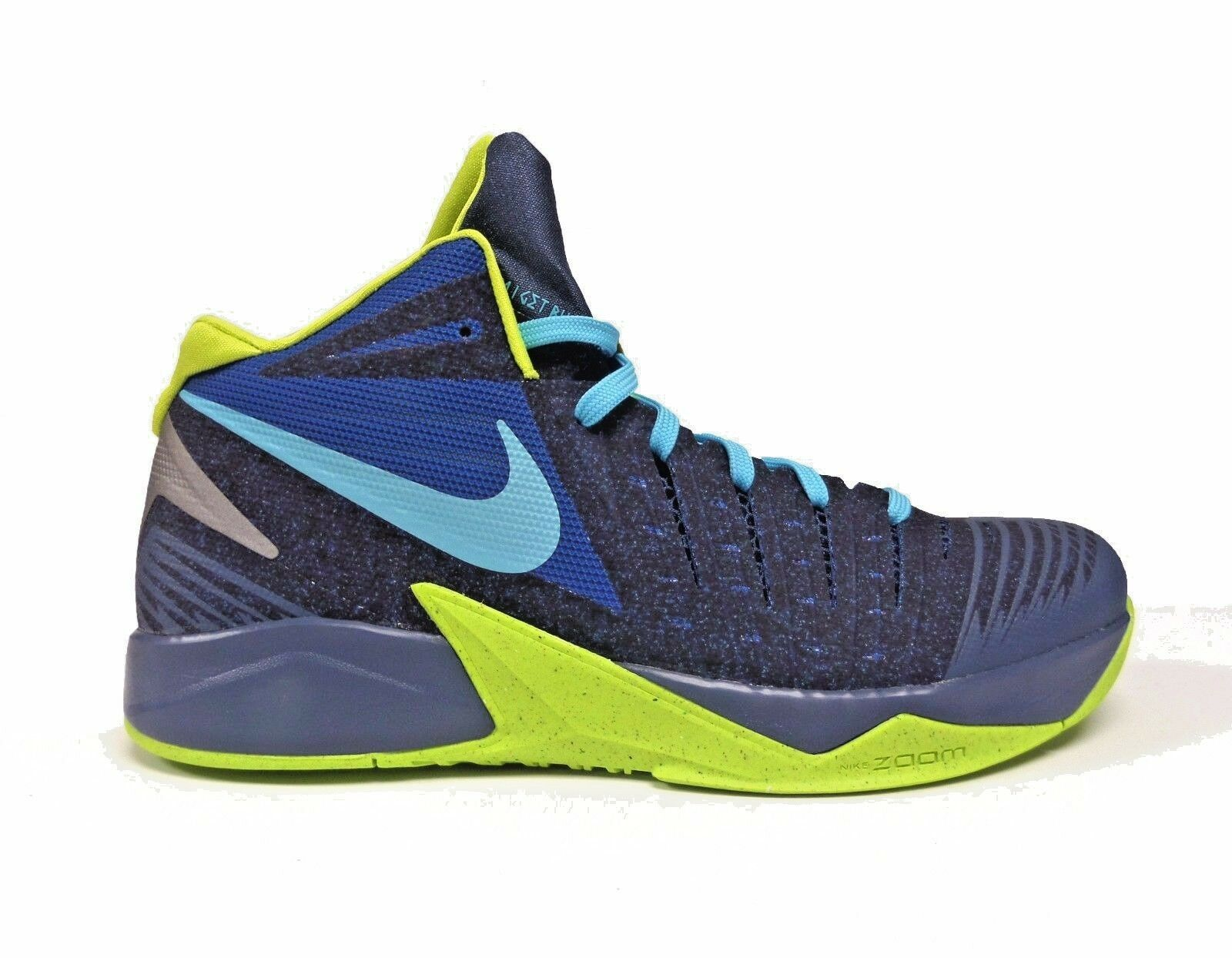 Nike Men's ZOOM I GET BUCKETS Shoes Military Blue 643300-400 a2