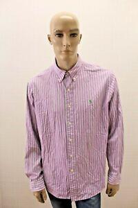 Camicia-RALPH-LAUREN-Uomo-Shirt-Chemise-Man-Taglia-Size-XL