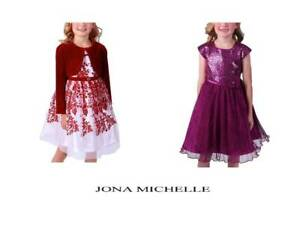 Jona-Michelle-Girls-Holiday-Dress-Formal-Party-Dress-NWT-Pick-a-size-color