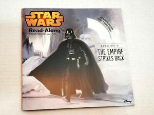 Star Wars Read Along Story Book CD Disk The Empire Strikes Back Darth Vader Jedi