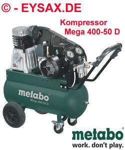METABO-Druckluft-Kompressor-Mega-400-50-D-DREHSTROM-400V-10-bar-50L-400L-MIN
