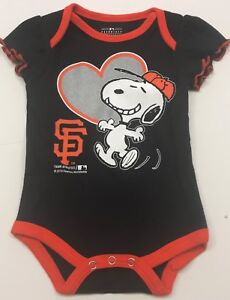 a053d62ab Image is loading MLB-San-Francisco-Giants-baby-girl-bodysuit-creeper-
