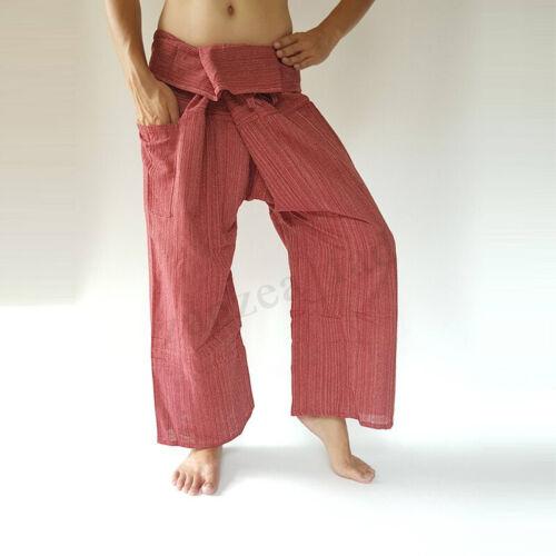 Herren Mode Yoga Hose Strand Langes Weites Bein Beiläufig Haremhosen Oversize