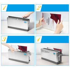 A4 Binding Cover Electric Document Hot Melt Thermal Binder 10 Sheets 110mm
