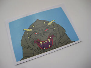 Kenner The Real Ghostbusters Ecto 1 Back Window Replacement Sticker B2G1F