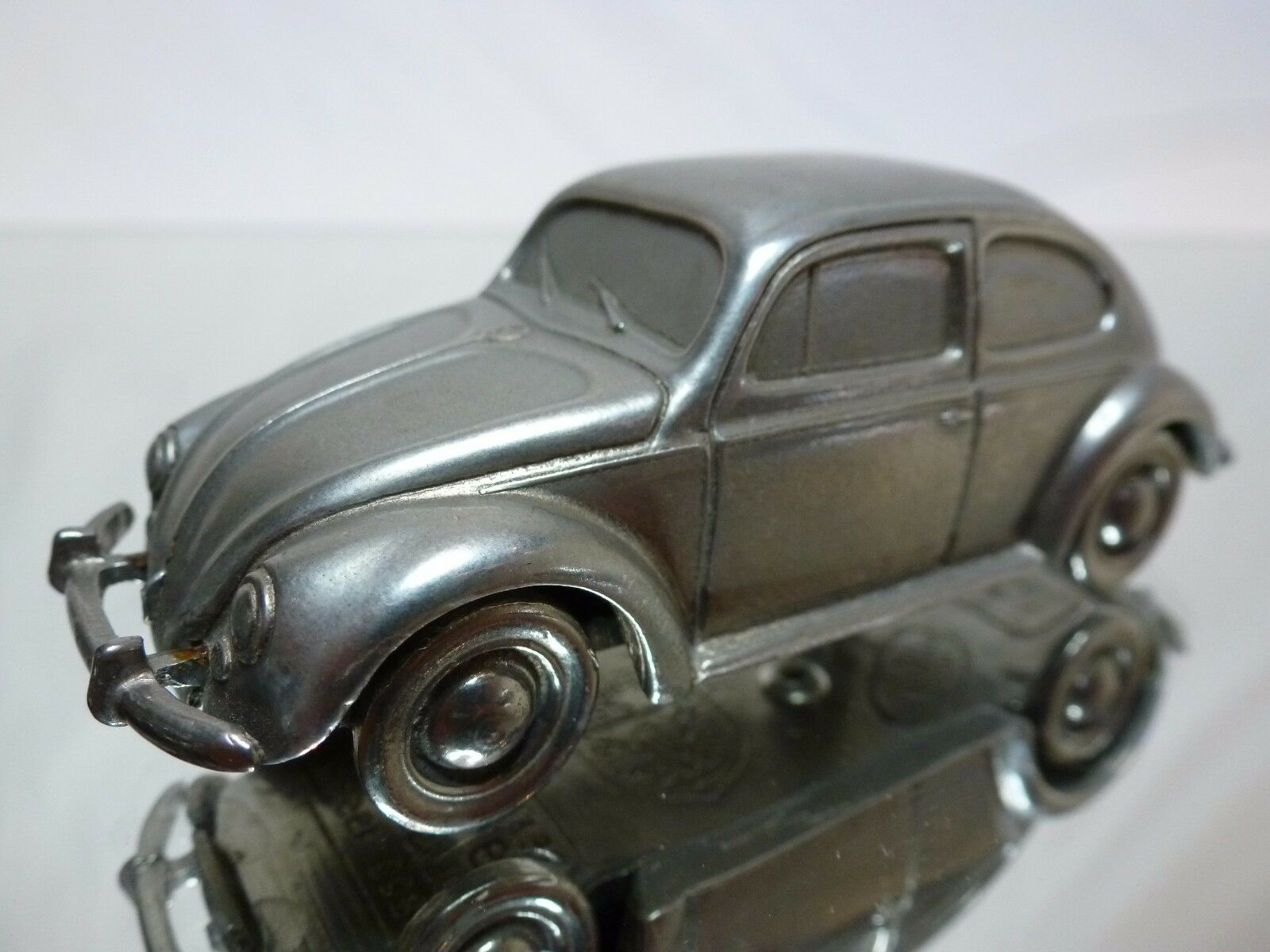TIN METAL FRANCE VW VOLKSWAGEN BEETLE 1200 1953 OVAL - 1 43 - EXTREMELY RARE