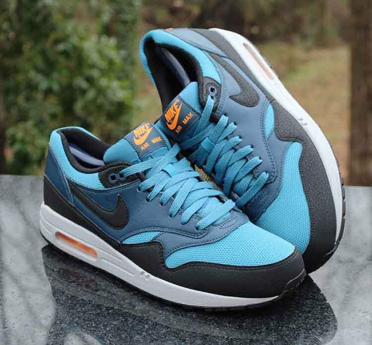 Nike Air Max 1 Essential Stratus bluee 537383-402 Men's Running shoes Size 10.5