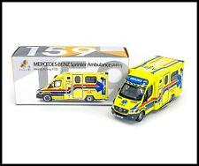 TINY Mercedes-Benz Sprinter Ambulance A501 HONG KONG FSD LIMITED EDITION 1//76