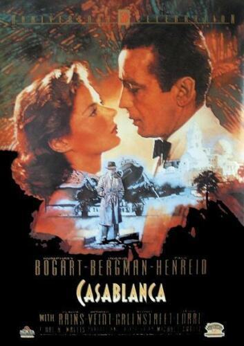 Casablanca Poster 68 x 101 cm