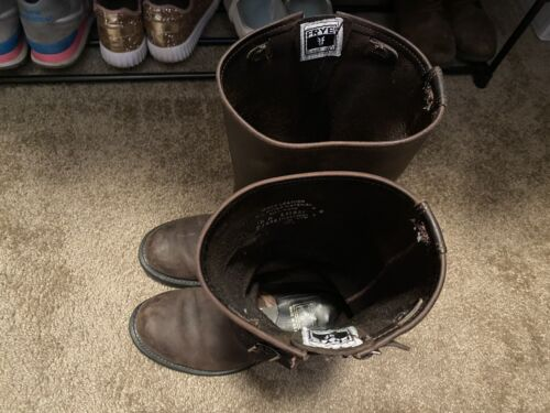 Frye Engineer Boots Size 10 2013
