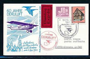 Enthousiaste 97468) Rda Coursier So-carte So-lp 60 J. Deruluft Berlin-moscou 1.5.82-afficher Le Titre D'origine