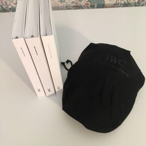 IWC Nouvelle casquette de baseball Annual collector Livres catalogues sac Genuine AMG Scellé