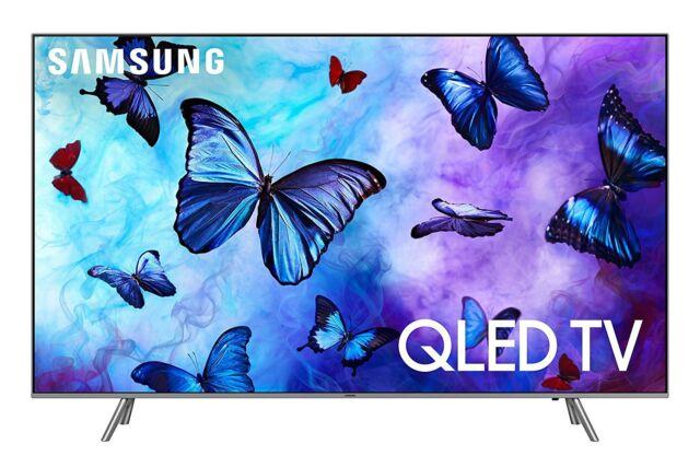 "Samsung 82"" QN82Q6FNA Flat QLED 4K Ultra HD Smart TV"
