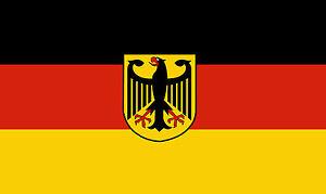 deutschland flagge fahne mit adler xxl 250 x 150 cm neu. Black Bedroom Furniture Sets. Home Design Ideas