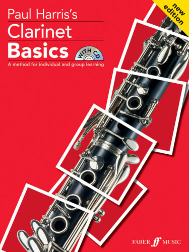 Clarinet Basics Pupils NEW EDITION Instrumental Solo SONGS FABER Music BOOK /& CD