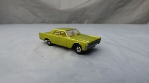 VINTAGE-1960s-LESNEY-MATCHBOX-SUPERFAST-N-31-Lincoln-Continental-modello-auto-giocattolo