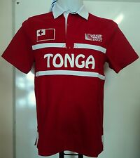 TONGA RWC 2015 S/S RUGBY JERSEY BY CANTERBURY SIZE XL BRAND NEW