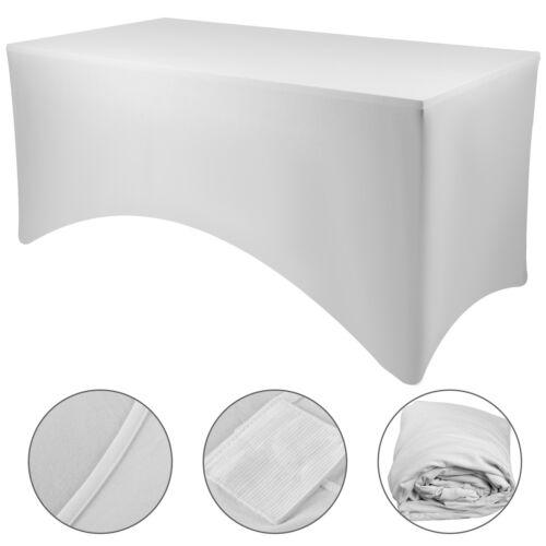 10//15//20 Stücke Stretch Tischdecke Tischhusse Küchentisch Tischüberzug Spandex
