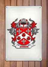 Walsh Coat of Arms A4 10x8 Metal Sign Aluminium Heraldry Heraldic