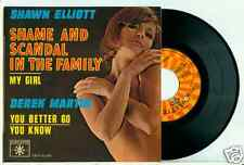 SHAWN ELLIOTT - Shame and Scandal in the Family + 3 FENCH EP