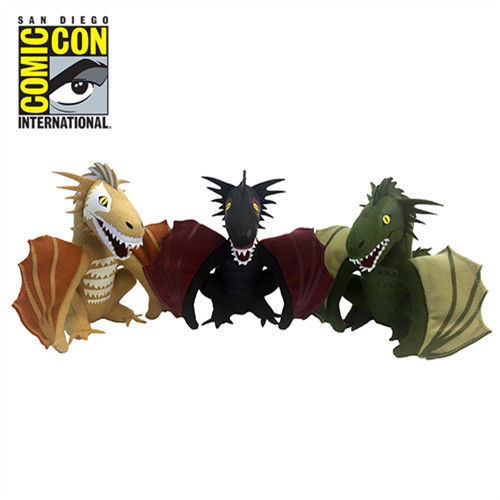 Thron des Spade Dragon Plush Box Set San Diego Comic-Con Exclusive SDCC 2017