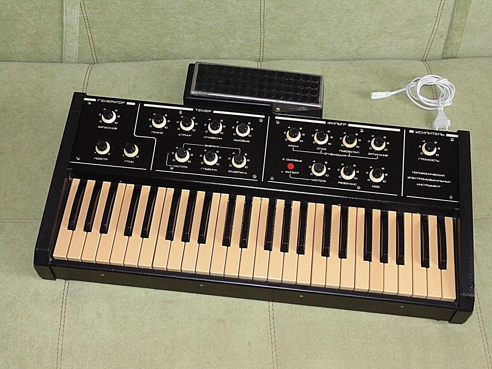 FAEMI 1 M (sintetizador analógico polifónico polivoks) De De De Colección Soviética Urss a0e6cb