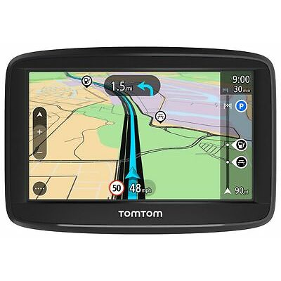 """TomTom Start 52 Sat Nav GPS 5"""" Full Europe Lifetime Map Updates Lane Assist"""