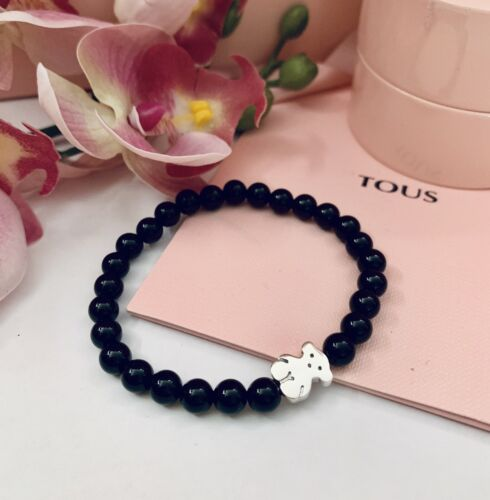 315901590 Original TOUS Silver And Onix Sweet Dolls Bracelet
