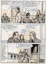 BOB DAN LE CHIEN MEXICAIN PLANCHE ORIGINALE BILL TORNADE ARTIMA PAGE 8