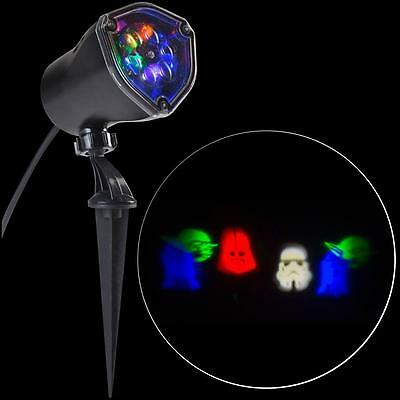 christmas outdoor star wars stake light led projection yoda darth r2d2 storm new - R2d2 Christmas Lights
