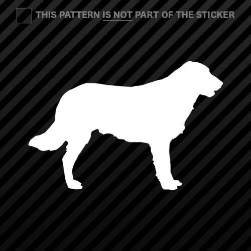 Flat Coated Retriever Sticker Self Adhesive Vinyl dog canine pet 2x