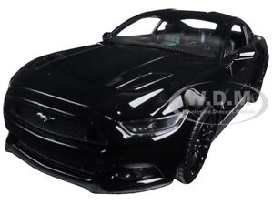 image is loading 2015 ford mustang gt black 1 24 diecast - Ford Mustang Gt Black