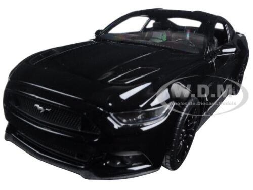 2015 FORD MUSTANG GT BLACK 1/24 DIECAST CAR MODEL BY WELLY 24062  sc 1 st  eBay & 2015 FORD MUSTANG GT BLACK 1/24 DIECAST CAR MODEL BY WELLY 24062 ... markmcfarlin.com