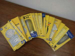 30x-Cartes-MICHELIN-France-Periode-1970-1975