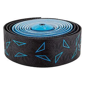 Star Fade Neon Blue Supacaz Bicycle Super Sticky Kush Handlebar Tape