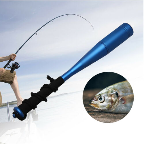 Fly Fishing Priest Alloy Head Foam Handle Fish Whacker Fish Bat Head Dia 20mm