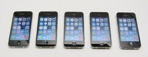 Lot-5-Apple-iPhone-4S-Black-A1387-16GB-Sprint-Tested