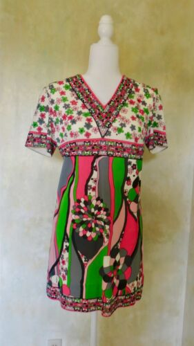 Mr. Dino Signed Authentic Vintage 60's Dress