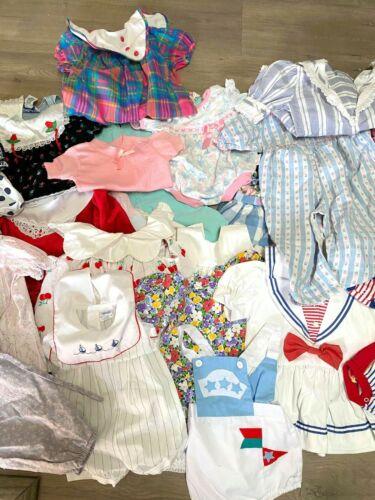 LOT OF 32 Vintage Children's Boy Girls Dresses Rom
