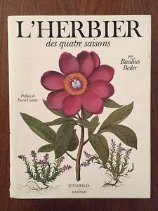 L-039-herbier-des-quatre-saisons-Basilius-Besler-Mazenod